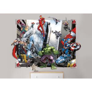 Décoration Murale Avengers 3D - Walltastic