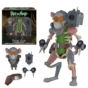 Rick and Morty Pickle Rick Actionfigur