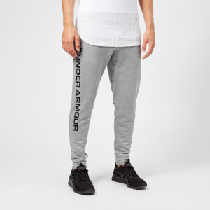 Under Armour Men's MK1 Terry Joggers - Steel/Black