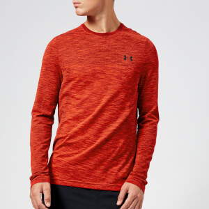 Under Armour Men's Vanish Seamless Long Sleeve Top - Radio Red