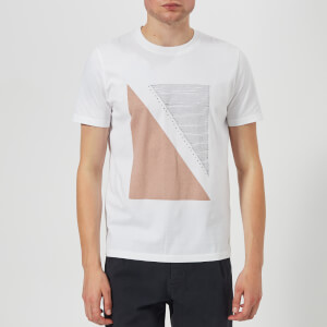 Folk Men's Quota T-Shirt - White Plaster Pink