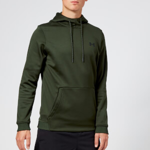 Under Armour Men's Armour Fleece Pull Over Hoodie - Artillery Green