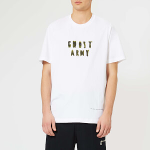 OAMC Men's Ghost Army T-Shirt - White/Khaki