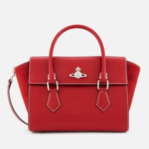 Vivienne Westwood Women's Matilda Medium Tote Handbag - Red