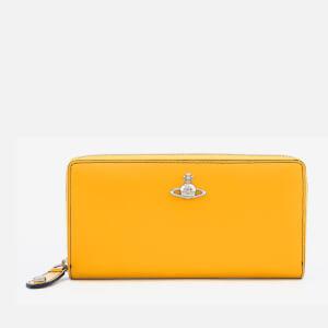 Vivienne Westwood Women's Matilda Zip Round Wallet - Yellow