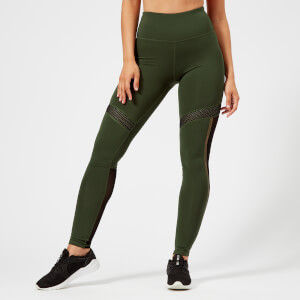 Superdry Sport Women's Mesh Leggings - Khaki