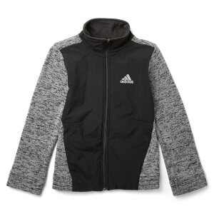 adidas Boys ID Warm Track Top - Black