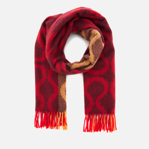 Vivienne Westwood Women's Super Squiggle Scarf - Oxblood