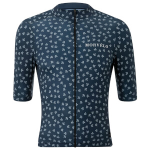 Morvelo Button Jersey - Blue (PBK Exclusive)