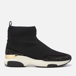 Carvela Women's Link Sock Trainers - Black