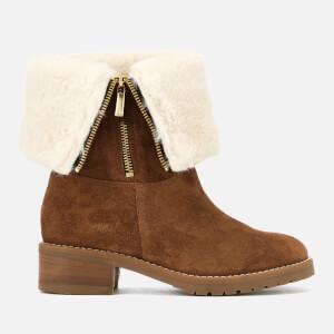 Carvela Women's Snug Suede Flat Boots - Tan