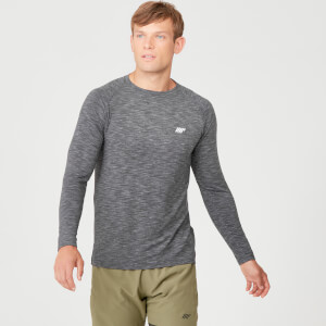 MP Men's Performance Long Sleeve T-Shirt - Charcoal Marl