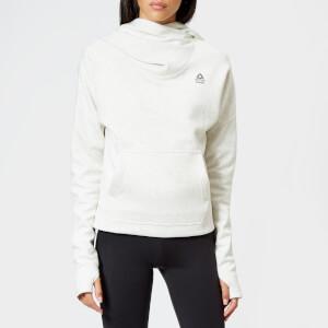 Reebok Women's Crossfit Hoody - White Melenge