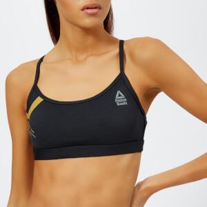 Reebok Women's CrossFit Skinny Bra - Black