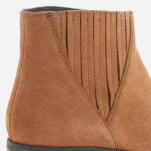 Steve Madden Women's Always Nubuck Western Ankle Boots - Camel: Image 4