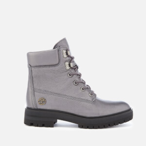 Timberland Women's Metallic London Square 6 Inch Boots - Dark Grey Akita