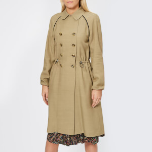 A.P.C. Women's Jackie Trench Coat - Beige Fonce