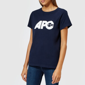 A.P.C. Women's Sheena T-Shirt - Dark Navy