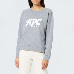 A.P.C. Women's Emma Sweatshirt - Gris Chine