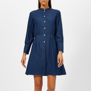 A.P.C. Women's Kimya Shirt Dress - Indigo