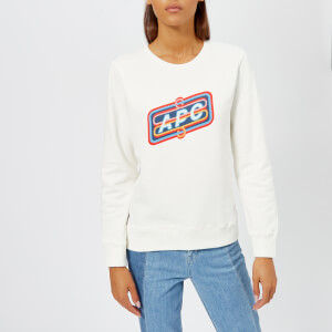 A.P.C. Women's Norman Sweatshirt - White