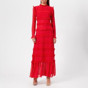 Rejina Pyo Women's Hadley Long Dress - Chiffon Red