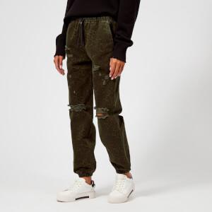T by Alexander Wang Women's XLD Jogger Pants - Sage Leopard Print