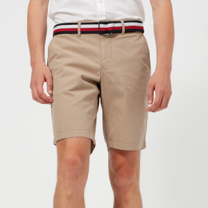 Tommy Hilfiger Men's Brooklyn Shorts with Belt - Batique Khaki