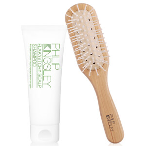 Philip Kingsley Flaky/Itchy Scalp Shampoo 75ml and Grooming Brush (Free Gift)