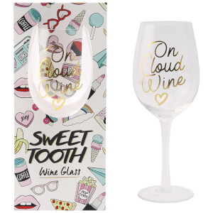 Sweet Tooth 'On Cloud Wine' Wine Glass
