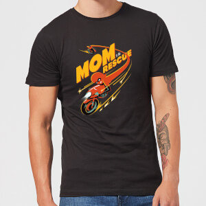 The Incredibles 2 Mom To The Rescue Men's T-Shirt - Black