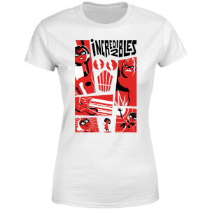 The Incredibles 2 Poster Women's T-Shirt - White