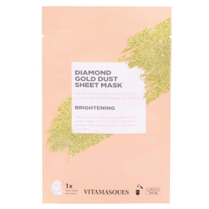 Vitamasques Gold Dusk Sheet Mask - Diamond