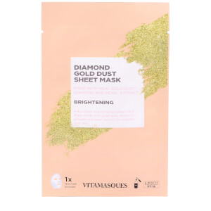 Vitamasques Gold Dust Sheet Mask Diamond