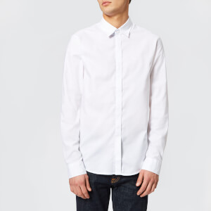 Armani Exchange Men's Slim Oxford Long Sleeve Shirt - White