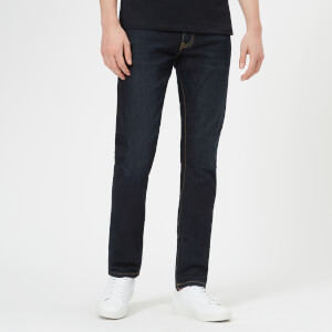 Armani Exchange Men's Slim Fit Unwashed Jeans - Blue