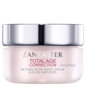 Lancaster Total Age Correction Amplified Retinol-in-Oil Night Cream and Glow Amplifier -yövoide 50ml