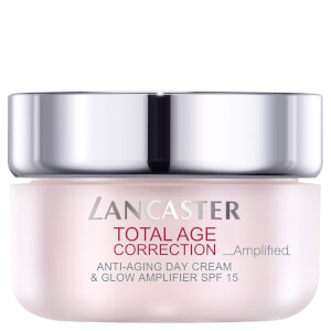 Lancaster Total Age Correction Amplified Anti-Ageing Day Cream and Glow Amplifier SPF15 50ml