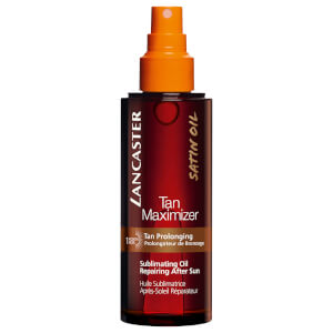 Lancaster Tan Maximiser Sublimating Oil Repairing After Sun Body 150ml