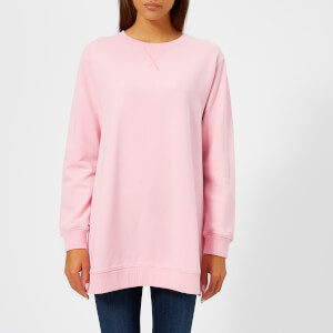 MM6 Maison Margiela Women's Oversized Sweatshirt - Barbie Pink