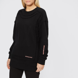 Armani Exchange Women's AX Logo Sweatshirt - Black