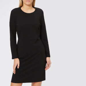 Armani Exchange Women's Jersey Long Sleeve Dress - Black