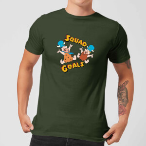 The Flintstones Squad Goals T-shirt - Donkergroen