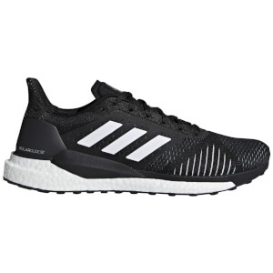 adidas Solar Glide ST Running Shoes - Black/White
