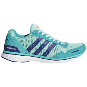 adidas Women's Adizero Adios 3 Running Shoes - Aqua