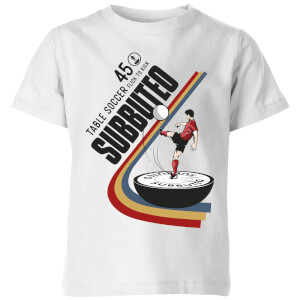 T-Shirt Enfant Subbuteo TABLE SOCCER 45 - Blanc