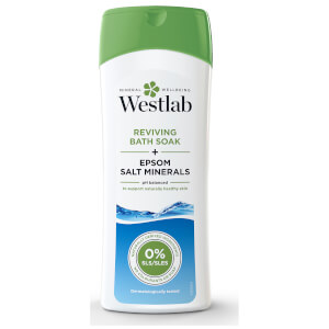 Minéraux Revitalisants de Sel d'Epsom Pur pour le Bain Reviving Bath Soak with Pure Epsom Salt Minerals Westlab 400 ml