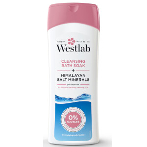 Westlab Cleansing Bath Soak with Pure Himalayan Salt Minerals 400 ml