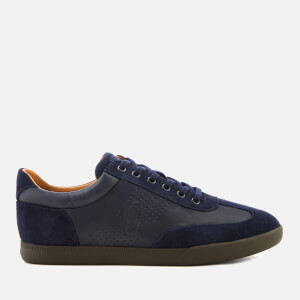 Polo Ralph Lauren Men's Cadoc Leather Athletic Trainers - Newport Navy