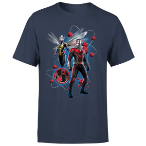 Ant-Man And The Wasp Particle Pose Men's T-Shirt - Navy